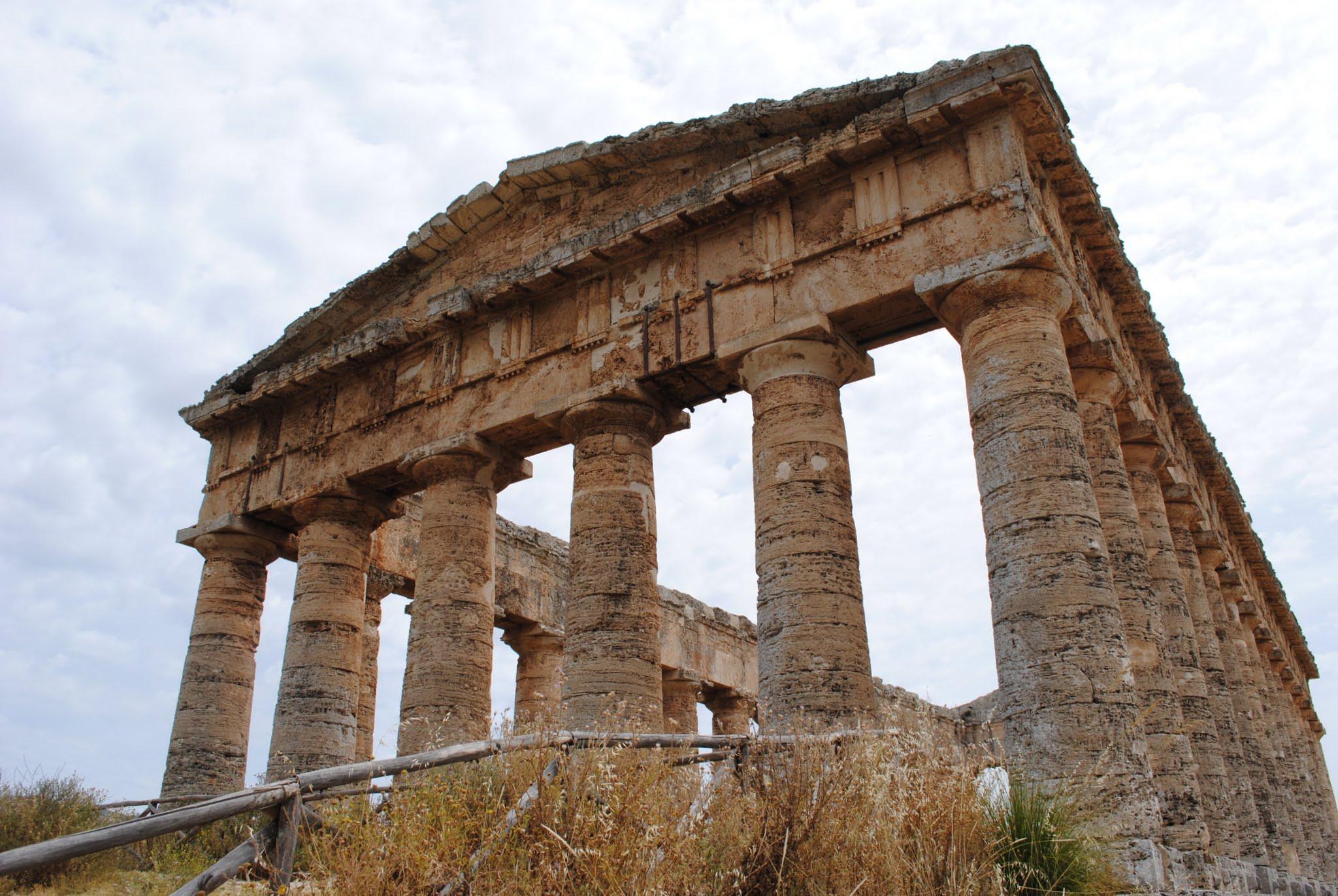 My Photos: Italy -- Mosaics -- Sicily -- Segesta