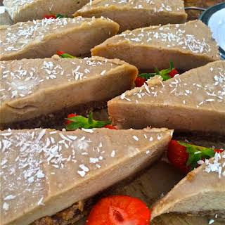 Raw Salted Caramel Cheesecake (From Raw & Cured).
