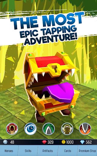 Télécharger gratuit Tap Adventure Hero: RPG Idle Monster Clicker APK MOD 2