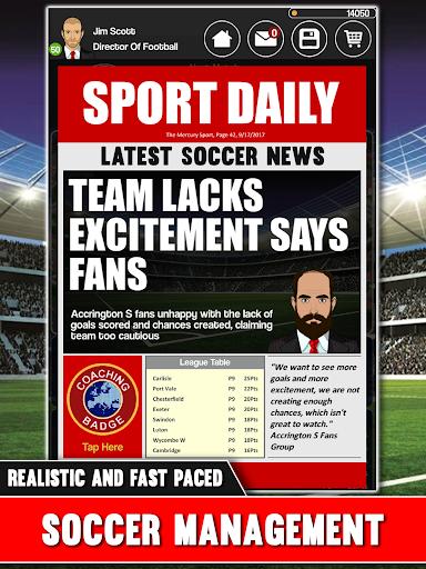 Club Soccer Director - Soccer Club Manager Sim 2.0.8e screenshots 15
