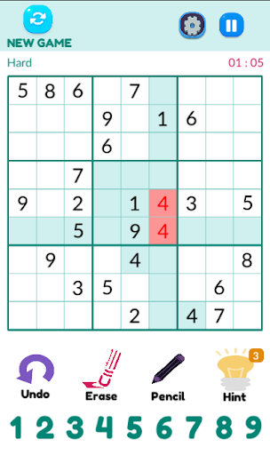 Sudoku 1.1.1 screenshots 3