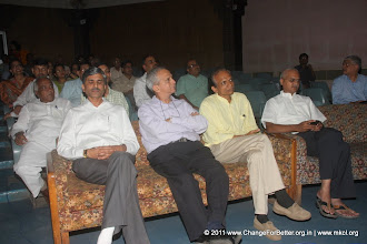 Photo: Shri. Vivek Sawant, Shri. Bhanu Kale, Shri. Anil Bokil and Shri. Atul Deshmukh. 