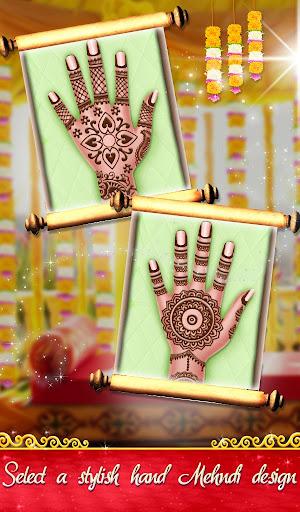 Indian Wedding Saree Designs Fashion Makeup Salon  screenshots 5