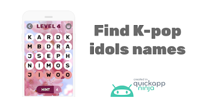 Find Kpop idols names - Android app on AppBrain