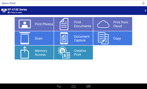 Epson iPrint screenshot 6