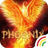 Flame Phoenix Keyboard Theme for Android