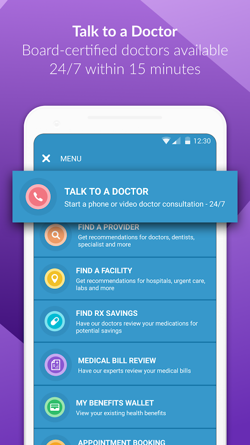 HealthJoy- screenshot