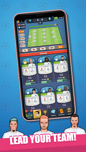 Idle Soccer Tycoon - Free Soccer Clicker Games  screenshots 2
