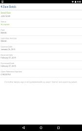 Equitable EZClaim Mobile Screenshot 13