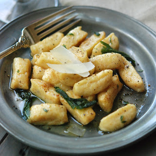 Winter Squash Gnocchi with Brown Butter and Sage.
