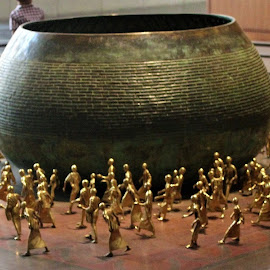 Bunch of Budhaa by Mukesh Kumar - Artistic Objects Other Objects