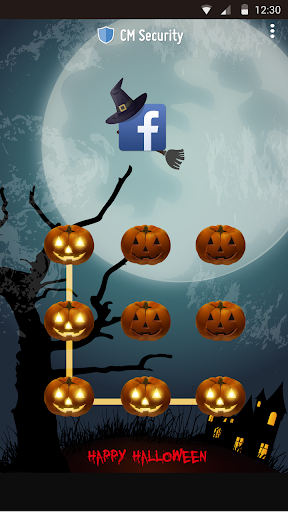 AppLock Theme Halloween screenshot 13