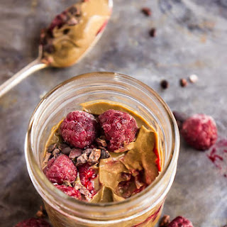 Chocolate Avocado Pudding with Cacao Nibs & Raspberries Recipe