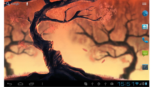 Woody Land :  Tree live wallpaper Parallax 3D free 2.5.5 screenshots 5