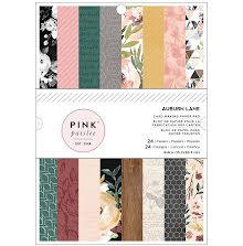 Pink Paislee Paper Pad 6X8 24/Pkg - Auburn Lane