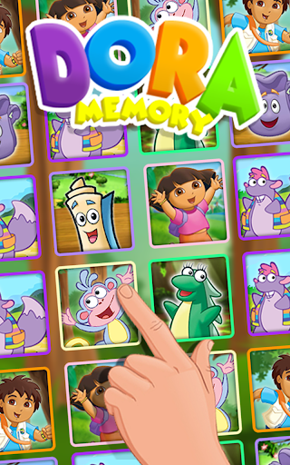 Memory Kids Dora Girls 1.1 screenshots 2