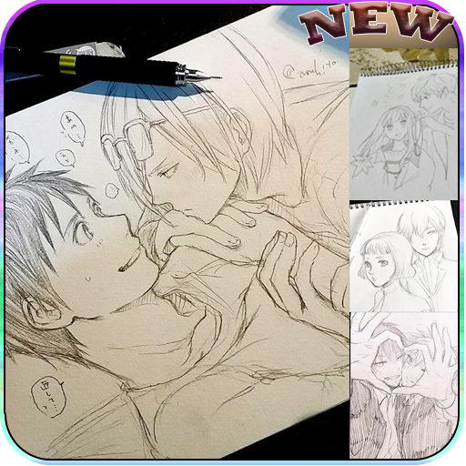 Drawing Anime Couple Ideas screenshots 1