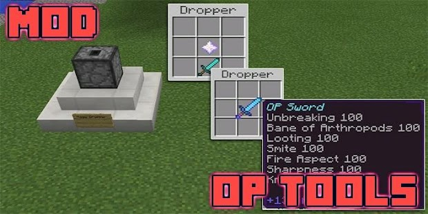 Mod OP Tools for MCPE - náhled