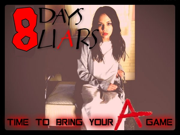 Photo: Just 8 more days till the Season 3 premiere of #PrettyLittleLiars ! Are you Excited?