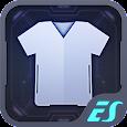 ES Dark Theme for free icon