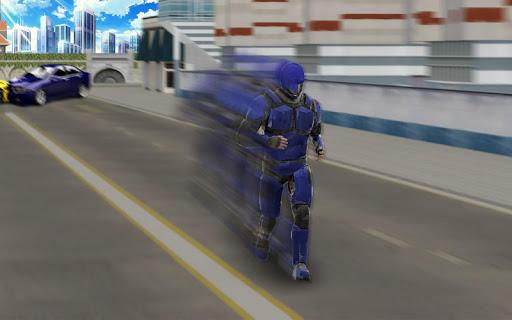 Super Light Speed Robot Superhero: Speed Hero 1.3 screenshots 4