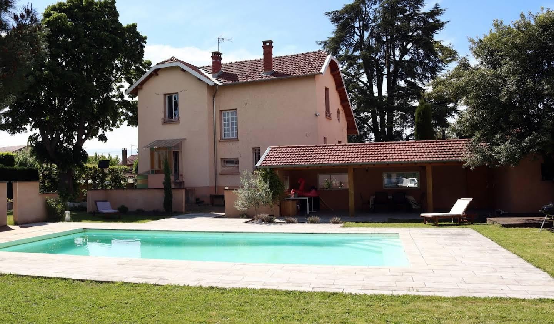 Maison avec piscine Arnas