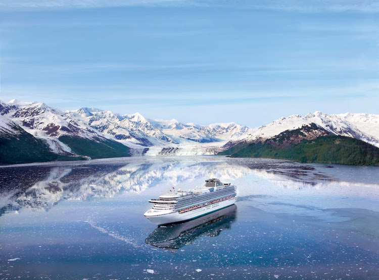 Go on a Voyage of the Glaciers or Alaska cruise tour on Princess Cruises.