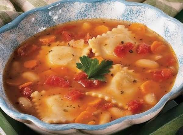 Italian Ravioli Stew Recipe