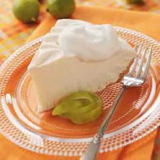 Frosty Key Lime Pie.