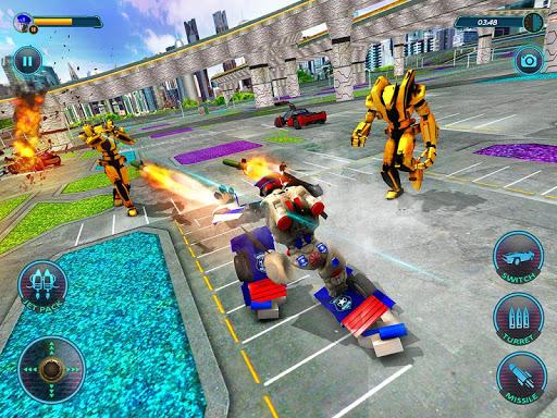 US Police Robot Car Revenge 1.3 Screenshots 9