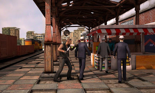 Sin City Train Sniper 3D