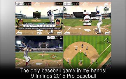 9 Innings: 2015 Pro Baseball Screenshot 9