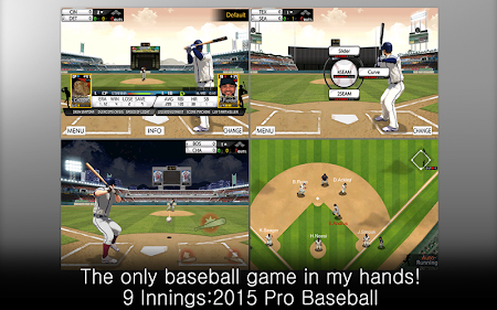 9 Innings: 2015 Pro Baseball 5.1.8 screenshot 185755