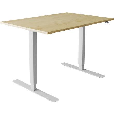 Skrivbord el björk 2000x800