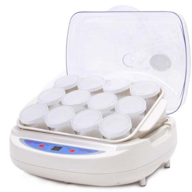 Hình ảnh:Máy làm sữa chua 12 cốc thủy tinh Misushita