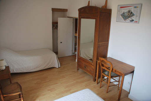 Dormitori de 2 camas - Casa rural de alquiler para 6 a 7 personas en Surgeres cerca de La Rochelle costa atlantica de Francia