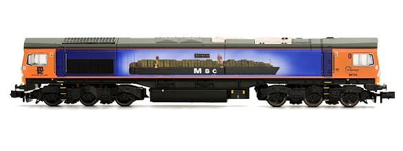 Photo: 2D-007-000 Class 66