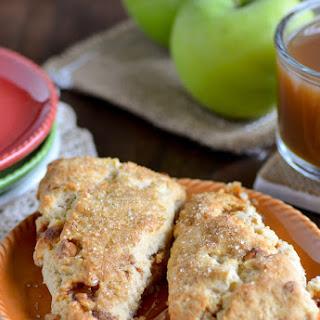 Apple Pie a la Mode Scones