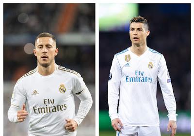 Zidane a placé Hazard dans la même position que Cristiano Ronaldo