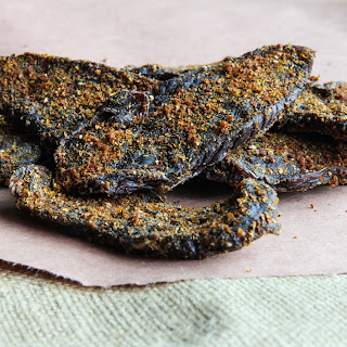Tangy Bloody Mary flavored Jerky.