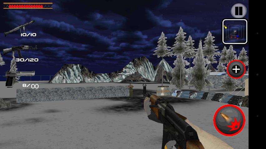 android Army Commando Shooter Sniper X Screenshot 7