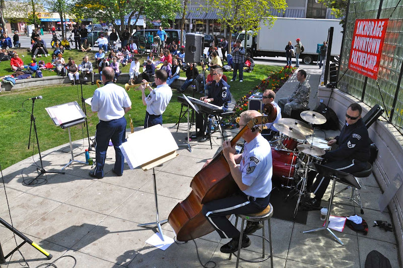 Downtown Anchorage brims with parks that are filled with festivals, music and events most days all summer long.