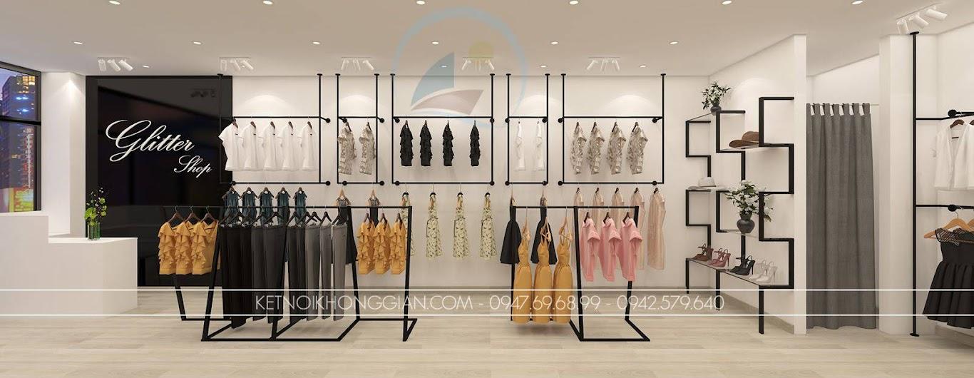 thiết kế shop thời trang nữ giá thành rẻ Glitter 5
