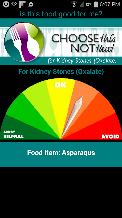 Kidney Stones (Oxalate)- screenshot