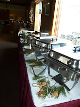 Photo: buffet by the Lighthouse Grill