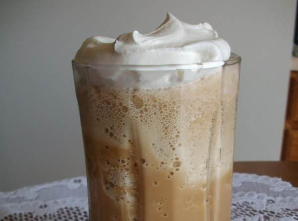 Made The Iced Coffee Topped With Cool Whip.