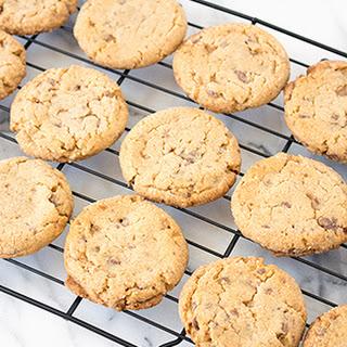 Peanut Butter Heath Cookies