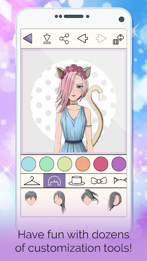 Screenshot for Anime Avatar Face Editor: Face Changer App in United States Play Store