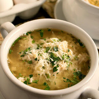 Turkey Stracciatella Soup