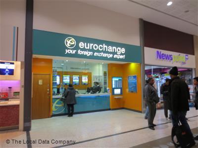 Eurochange plc on new cannon street bureaux de change in city